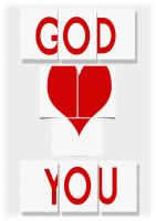 GOD LOVES YOU by BioSss
