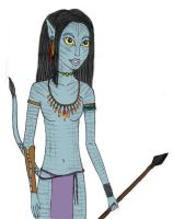 Neytiri drawing by Badty92