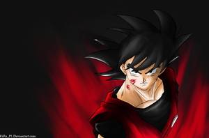 Rest in Kaioken Flames. by KiRaPL