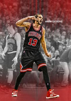 Joakim Noah edit by NewtDesigns