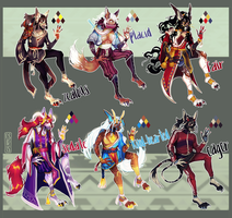 Adoptables auction | closed by OSIRISXII