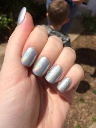 Silver Holographic by megs2606