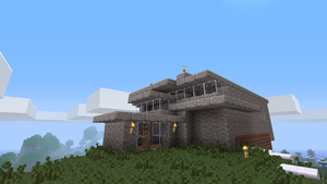 Minecraft: House with a view 3 by chriskronen