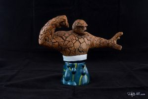 [Garage kit painting #16] The Thing bust - 009 by DasArt