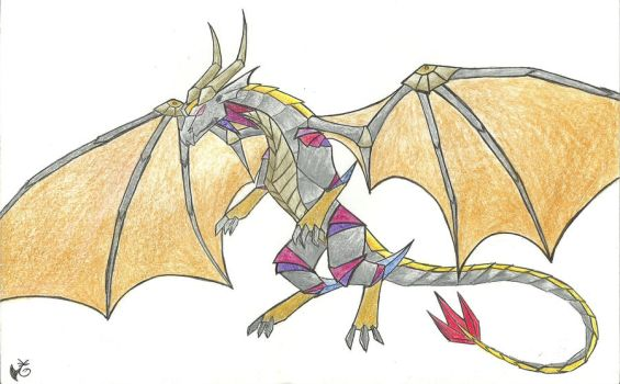 Metal Dragon by Rukia-the-Lynx