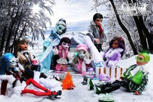 Monster High Winter Wonderland by KittRen