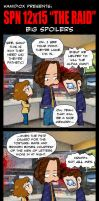Not All Men (of letters) SPN 12x14  BIG SPOILERS by KamiDiox