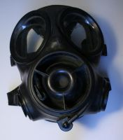Gas Mask without Respirator by XerStock