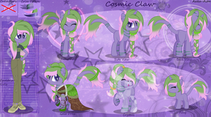 Cosmic Claw Reference By Asika Aida-dbgy3hu by MoonArtistUniverse