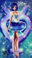 Sailor Mercury by MoonlightArt13