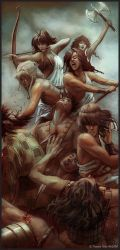 Amazons Attack by ThanosTsilis