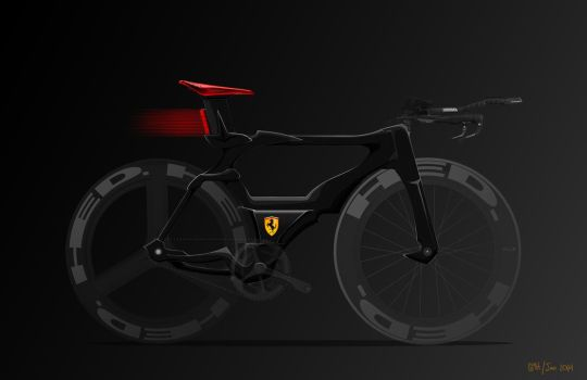 Ferrari Concept Bike by all-one-line