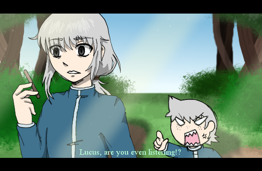 Fake screenshot: Lucus and Kyle by Chaos55t