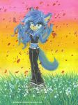 Comm_Sonia_and_red_roses by RainWaterfallsZone