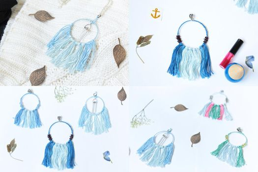 Dreamcatcher Collection Jewelry by Ming-Shuw