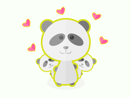 Panda Love by apparate