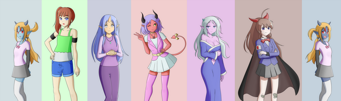Sprites for Maximum Monster Month! by InstantRiot