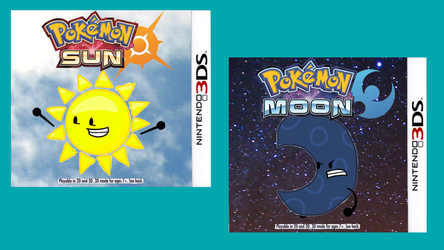 POKEMON SUN AND MOON COVER ARTS REVEALED by OfficialTWJ