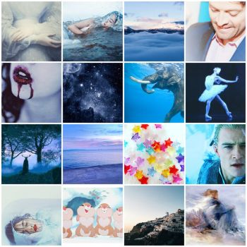 My aesthetic (Blue) by ScorpionFlower1