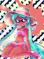 Summertime in Inkopolis by EmmersDrawberry