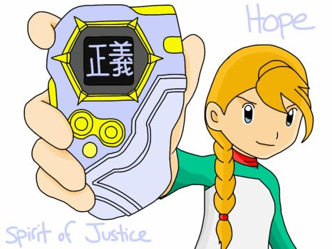 Digi-Destined Hope: Hero of Justice by whitefire33