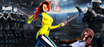 Jean Grey let her guard down by neo-sunglasses