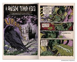 Maggot Man pages 1 and 2 by ChrisFaccone