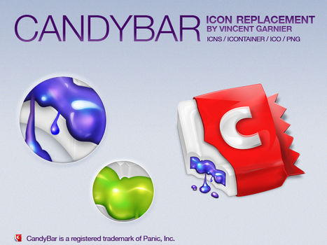 Candybar Icon Replacement by Benjigarner