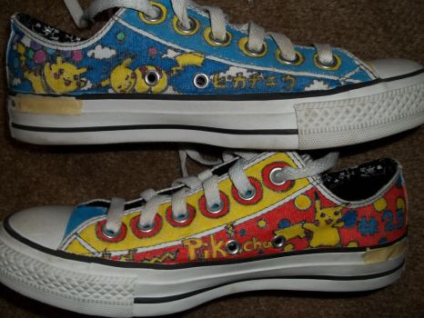 More Pokemans on Mah Shoes by fishAUciel