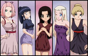 Kunoichi Girls Dress-up by ZOMBIEgiraffes