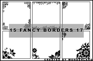 Fancy Icon Borders 17 by Foxxie-Chan