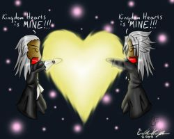 Kingdom hearts is MINE by Lord-Evell
