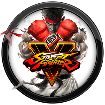 Street Fighter V Icon by andonovmarko