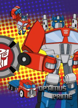 Transformers Rescue Bots: Optimus Prime by Theditor