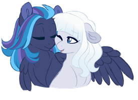 NG: A friend in need by Azure-Art-Wave