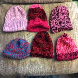 Loom Knit Hats by Sassafras1560