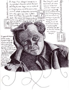 Illustrated biography: Marc Chagall (pt. 4) by Trylledrik