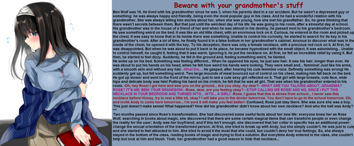 TG Caption - Beware with your grandmother's stuff by TGcompilation