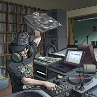 Dj Distort cd Cover by Lucidflows