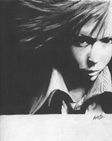 Charcoal drawing 2 by bloodmist1
