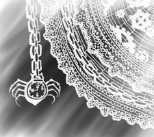 Lace and Clockworks Spider by Tigrantia