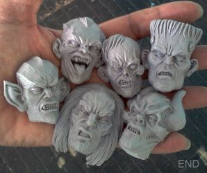 Monster Magnets Round 2 by EricNocellaDiaz