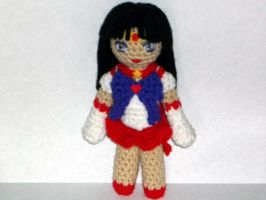 Sailor Mars Doll by black-moon-flower