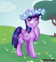 Spring Twilight Sparkle by Lifyen