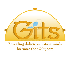 Gits Food (India) concept logo design by genghisjon