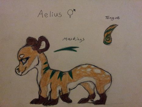 Aelius- Event Evoloon Approval Sheet by Alextrosaurus