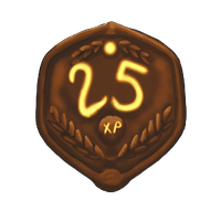 25 XP Plaque by ReapersSpeciesHub