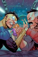 INVINCIBLE 106 cover by RyanOttley