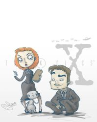 X-Files by vimfuego