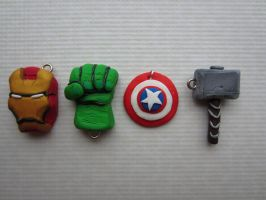 Fimo Avengers by Zoeira